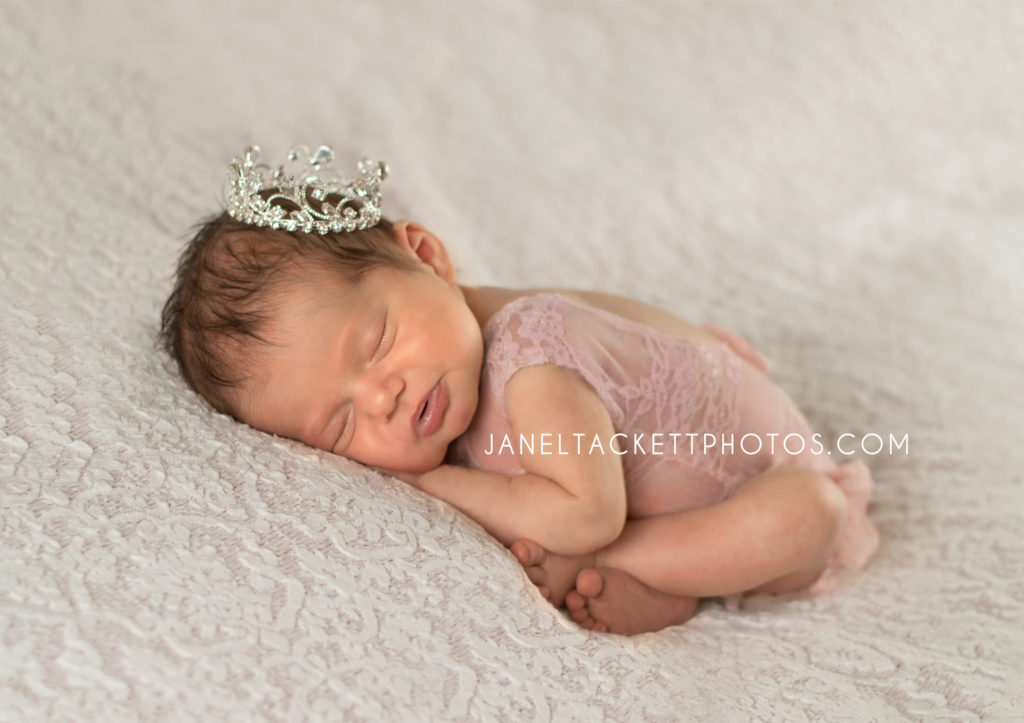 Owasso, Ok Newborn Photographer- Baby Girl Photos