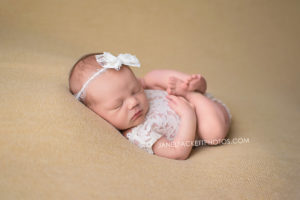 Lace Romper My Brown eyed Girl