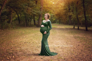 Mohawk park maternity photos