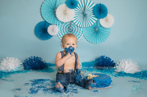 Boys first birthday session