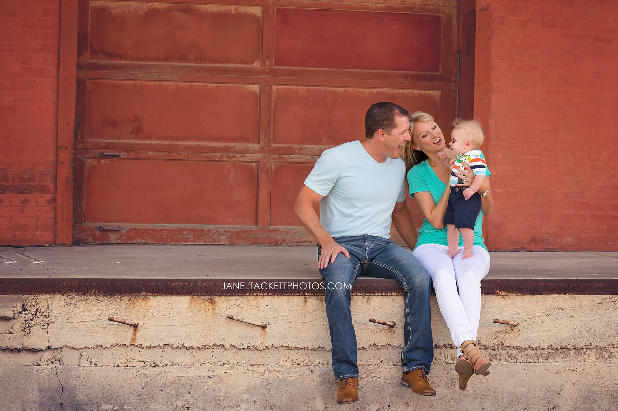 Downtown Tulsa, Oklahoma Family photos