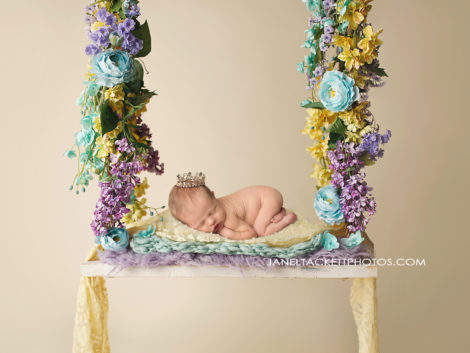 flower princess newborn