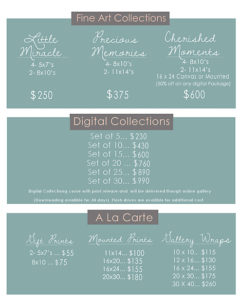 Janel Tackett Photos Package Prices